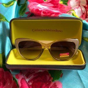 Catherine Malandrino Sunglasses Natural Bronze 😎!